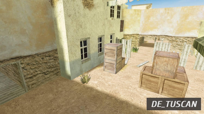 Тактика Игры На De_Tuscan