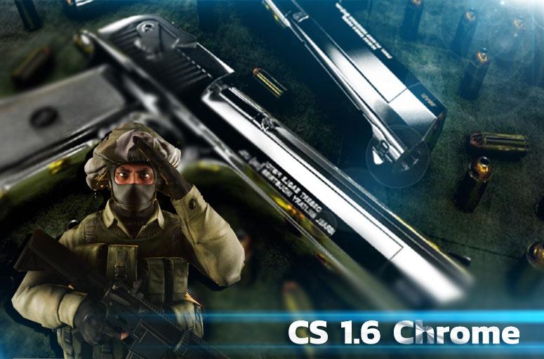 Скачать Counter-Strike 1.6 Хром