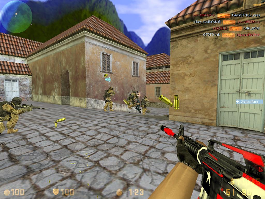 Сборка Counter-Strike 16 от Сахара (SAH4R) 2014
